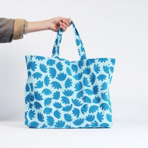 cabas bloom bleu atelier nougatine rennes