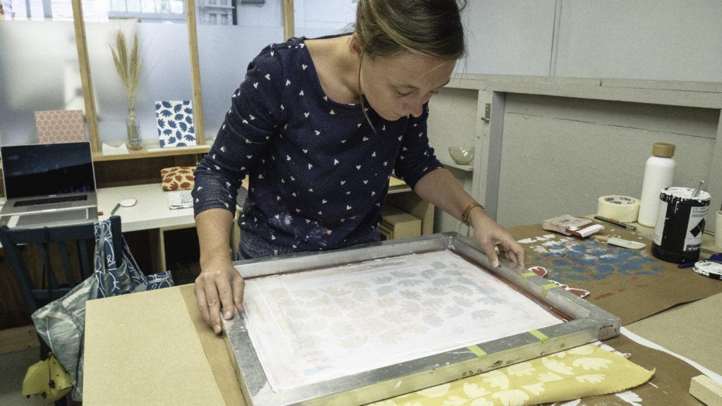 Perrine Moisan, créatrice de la maruqe Atelier Nougatine a rennes